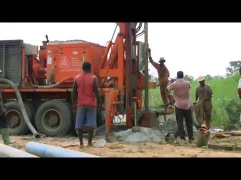 Dando Drilling Rig Watertec 12 8 Togo