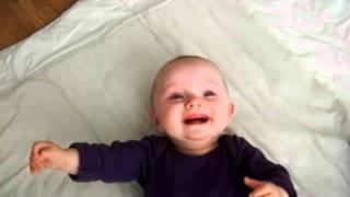 lachende kleine pux