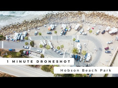 Hobson Beach Park Drone Cinematography - YouTube
