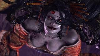 Nioh: Joro-Gumo Boss Fight (1080p 60fps)