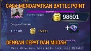 MOBILE LEGENDS INDONESIA - Cara Mendapatkan Battle Point dengan Cepat dan Mudah