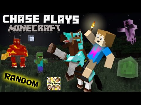 Thumbnail: Chase plays MINECRAFT! Random Gameplay w/ a 4 Year Old! (FGTEEV)