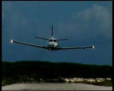 TBM 850 Flyby