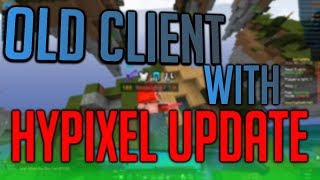Old Client that's bypassing Hypixel again! | Infinite Fly, Packet Criticals, Auto-Block, etc!