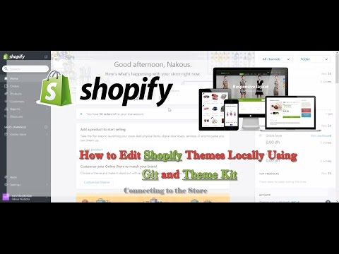 How to Edit Shopify Themes Locally Using Git and Theme Kit