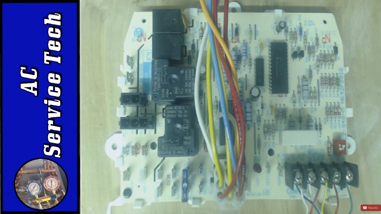 Troubleshooting The Furnace Control Board Ifc To Test If Its Bad  For Heat And Ac Diagnosis