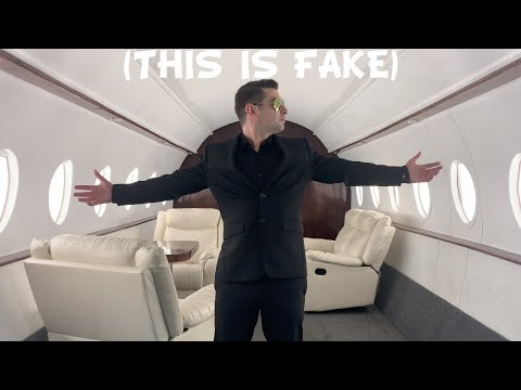 So I Rented the FAKE Private Jet Studio in Los Angeles...
