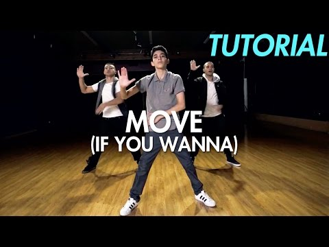 MIMS - Move (If You Wanna) (Dance Tutorial) | Mihran Kirakosian Choreography