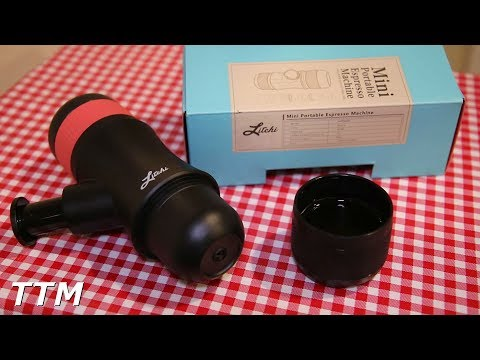 Mini Portable Espresso Machine by Litchi~Espresso Coffee Maker Review