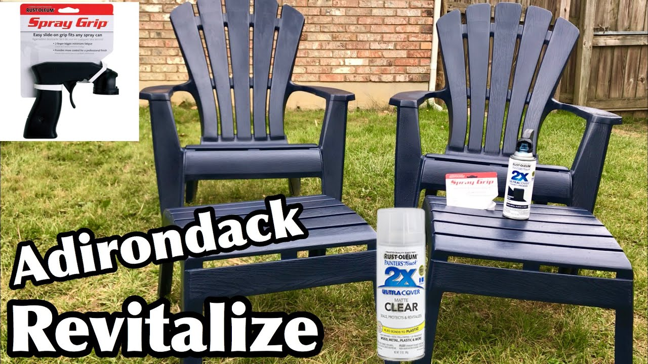 make plastic outdoor furniture look