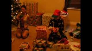 Daniel Opening Christmas Presents 2013 Part 1