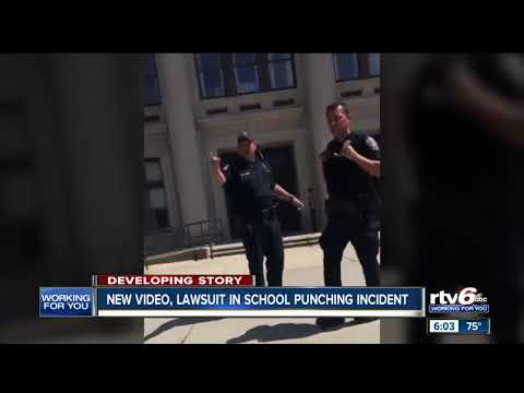 Federal lawsuit filed, new video released after officer hit student outside Shortridge High School