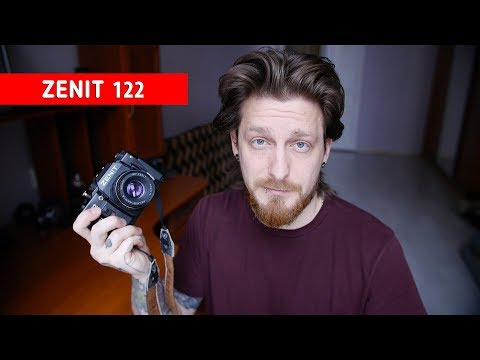 Как фотографировать на плёнку / ЗЕНИТ 122 обзор