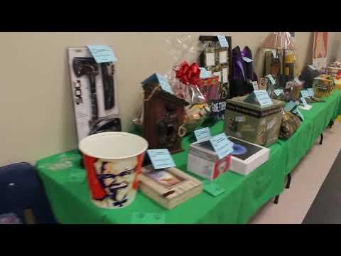 Items at the Swift Current Wildlife Federation Annual Conservation Dinner & Auction