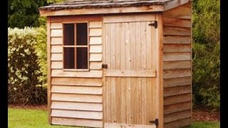 8x10 Lean To Shed Plans Blueprints For Making A Storage Shed