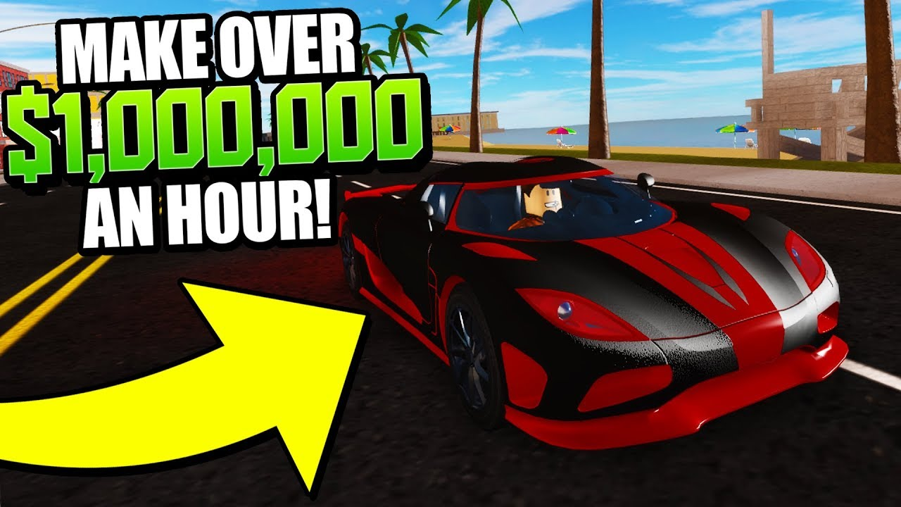 The BEST Way to Make Money in Vehicle Simulator! $1m per HOUR!! (Roblox)