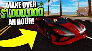 Der BESTE Weg, um Geld im Fahrzeug-Simulator zu machen! 1 Mio. USD pro STUNDE!! (Roblox)