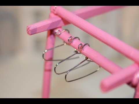 DIY Paper Clip Hanger for MINI DRESS