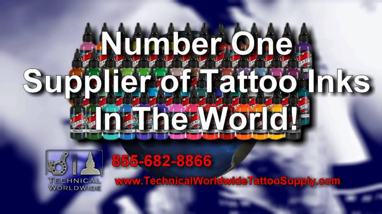 Technical worldwide tattoo supply youtube for World wide tattoo supply