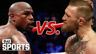 McGregor vs. Mayweather -- VERBAL WAR, McGregor Wants $100 Million to Box Floyd | TMZ Sports