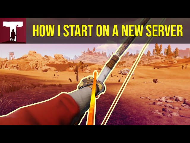 HOW I START ON A NEW SERVER! (Rust Duo)