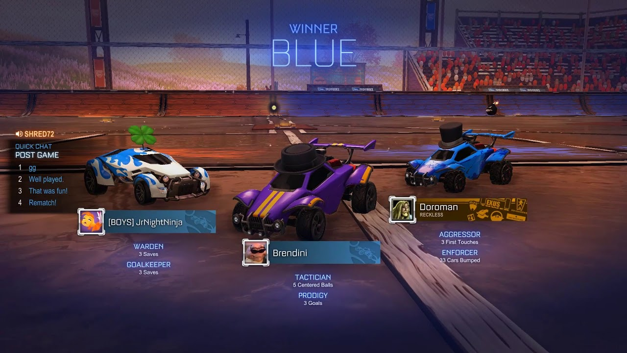 Bullying my way to Grand Champion | Rocket League |