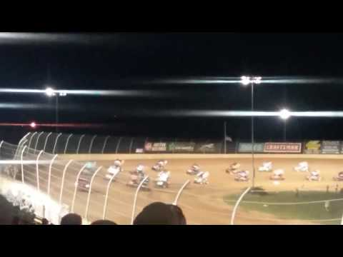 World of Outlaws Feature Part 1/2  Lawrenceburg Speedway