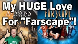 """My Huge Love For """"Farscape""""! (Games I Love Livestream 2018, Part 5)"""