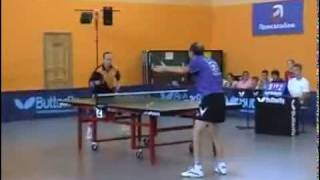 Mazunov A. - Saveliev A. table tennis Pelikan OPEN 2008(Мазунов Андрей- Савельев Александр., 2012-02-20T13:53:49.000Z)