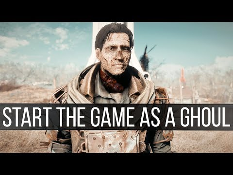 This Mod Lets You Play Fallout 4 as a Ghoul
