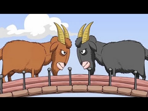 Two Stubborn Goats Encountered on a Bridge | Alpi and Friends Children's Songs 2018
