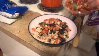 Healthy Tailgating Food- Chicken Nachos Thumbnail