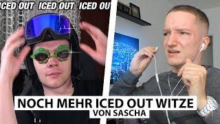 Justin reagiert auf mehr Iced Out Witze von Sascha.. | Reaktion