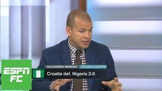 Croatia's win vs. Nigeria a warning sign to Argentina in 2018 FIFA World Cup   ESPN FC