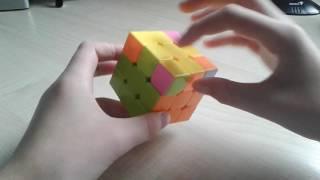 Кубик рубик!3 ЧАСТЬ!ПОДРОБНЫЙ ВИДЕО УРОК)))