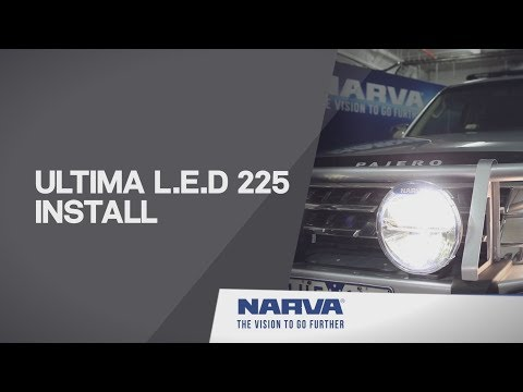 How to Install Ultima L.E.D 225 Driving Lights - YouTube Spotlight Wiring Diagram Pajero on light relay wire diagram, auto relay diagram, motorcycle spotlight relay switch diagram, spotlight lighting, battery diagram,