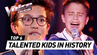 Download MOST TALENTED KIDS in The Voice Kids HISTORY