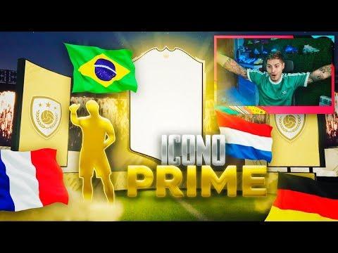 ABRO MI SOBRE DE ICONO PRIME ASEGURADO Y ES ''INCREIBLE''!!! | FIFA 20