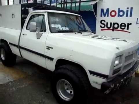 Dodge Power Ram 250 4x4 Con Llantas 35 Llantas