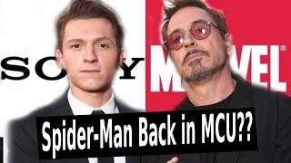 THE DEAL IS BACK ON? Sony & Marvel Agree on Spider-Man in the MCU??
