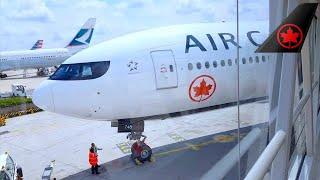 TRIPREPORT   Air Canada   Boeing 777-300ER (ECONOMY) Paris to Montreal