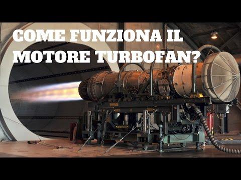 Come funziona il motore turbofan (italiano)