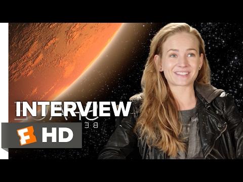 The Space Between Us Interview - Britt Robertson (2017) - Drama