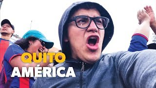 Deportivo Quito 1 - America 0 Copa Ecuador 🇪🇨 Vlog 💙❤️💙