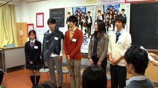 11月29日(木)に目黒区の高校で、演出家・藤井清美、主演・相葉裕...