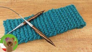 Druty dla początkujących | prosta opaska na drutach | wprowadzenie do robienia na drutach