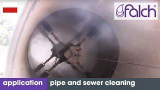 Wysokociśnieniowe czyszczenie rur i kanałów wysokim ciśnieniem - myjkami wysokociśnieniowymi