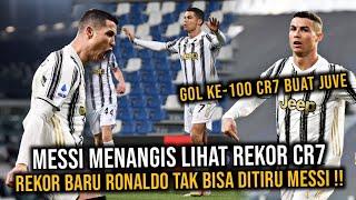 Bikin Messi Menangis !! Cetak 100 Gol Cristiano Ronaldo Pecahkan Rekor Keren Di Juventus