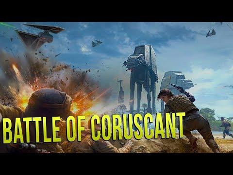 BATTLE OF CORUSCANT - Star Wars Empire At War (Awakening of the Rebellion) Ep 2