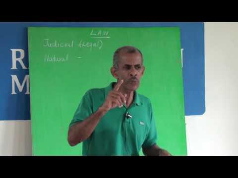 02 Natural and Judicial Law - David Clayton